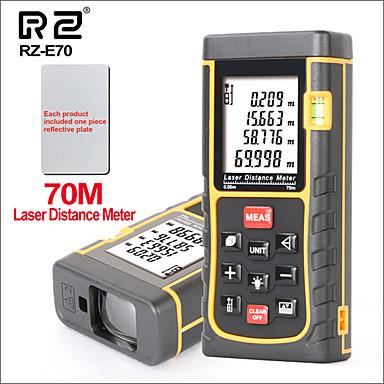 voordelige Test-, meet- & inspectieapparatuur-rz laser afstandsmeter afstandsmeter afstandsmeter jacht digitale handheld mini afstandsmeter e serie 70m laser afstandsmeter