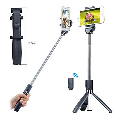 Χαμηλού Κόστους Φωτογραφική μηχανή, φωτογραφία & βίντεο-APEXEL Ραβδί για selfie Bluetooth Με προδιαγραφές επέκτασης Μέγιστο μήκος 70 cm Για Παγκόσμιο Android / iOS Universal