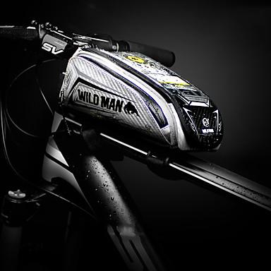 abordables Sacoches de Vélo-Sac de téléphone portable 5.5-6.3 pouce Portable Cyclisme pour Cyclisme Noir Rouge Gingembre Vélo de Route Cyclisme / Vélo Cyclotourisme