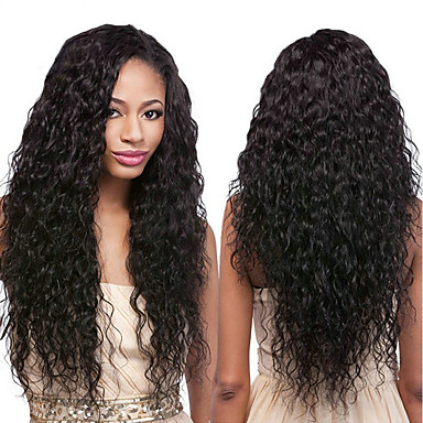 baratos Extensões de Cabelo Natural-4 pacotes Cabelo Brasileiro Onda de Água 100% Remy Hair Weave Bundles Cabelo Humano Ondulado Cabelo Bundle Um Pacote de Solução 8-28inch Côr Natural Tramas de cabelo humano Fofinho Design Moderno