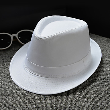 billige Hodeplagg til fest-Kurvevarer / Dobbelt Lag Stoff Hatter / Hodeplagg med Kasket / Solid 1 Deler Bryllup / Dagligdagstøy Hodeplagg