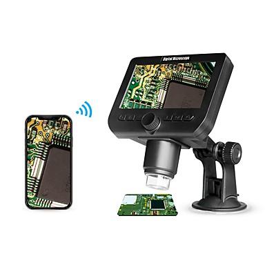 voordelige Microscopen & Endoscopen-317 Digitale microscoop 1000X Smart Draadloze Flitscontrole Inspectie