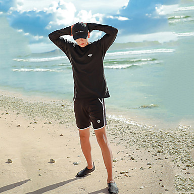 Miesten Skin-tyyppinen märkäpuku Sukelluspuvut Pidä lämpimänä UV-aurinkosuojaus Sukellus Patchwork Syksy Kevät Kesä / Elastinen