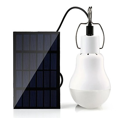1kpl LED Night Light / Camping ulkovalaisimen Valkoinen Aurinkoenergia Hätä <5 V