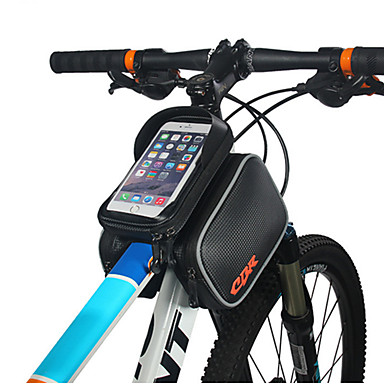 abordables Sacoches de Vélo-Sac de téléphone portable Sac Cadre Velo 6 pouce Etanche Cyclisme pour Cyclisme Noir Activités Extérieures Cyclisme / Vélo Vélo Cyclisme
