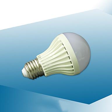 abordables Ampoules électriques-1pc 7 W Ampoules Globe LED 410-510 lm E26 / E27 22 Perles LED Audio-activé 220-240 V
