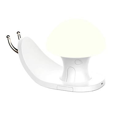 BRELONG® 1kpl LED Night Light Lämmin valkoinen / RGB + valkoinen USB Stressiä ja ahdistusta Relief / Helppo kantaa / bedside 5 V