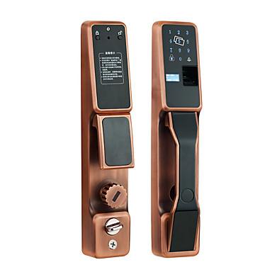 5YOA FPLock02 Serrure / Verrou à mot de passe / Ensemble de système de contrôle d'accès RFID / Rappel de batterie faible / Enregistrer la requête Empreinte digitale / Mot de passe / Carte d'Identité