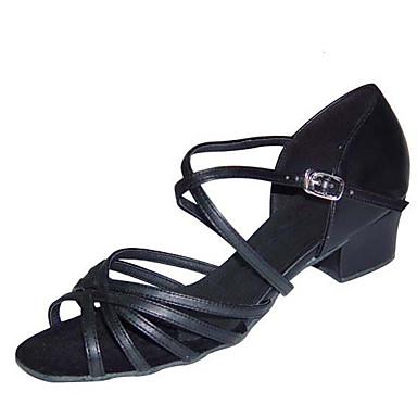 46acb485c8d Γυναικεία Παπούτσια χορού λάτιν PU Τακούνια Παγιέτες Πυκνό τακούνι  Εξατομικευμένο Παπούτσια Χορού Μαύρο / Βυσσινί / Χακί