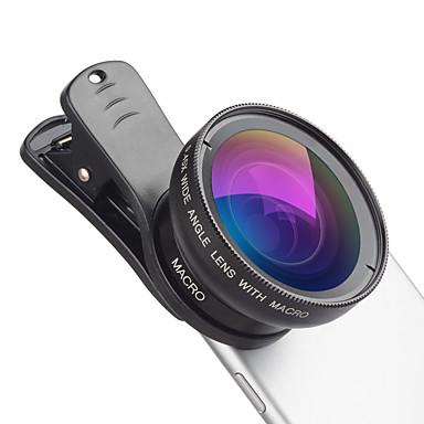 رخيصةأون الكاميرا و الصوت و الصورة-عدسة الهاتف المحمول عدسة زاوية كبيرة / عدسة كبيرة زجاج / سبيكة ألومنيوم 12.5X ماكرو 50 mm 15 m 110 ° إبداعي / كوول / مضحك