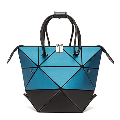 9a4eb283e4fb9f cheap Bags-Women's Zipper / Chain Tote PU(Polyurethane)