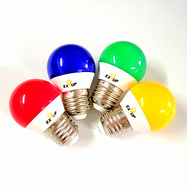 tanie Żarówki-EXUP® 5 W Żarówki LED kulki 430 lm E14 E26 / E27 G45 11 Koraliki LED SMD 2835 Impreza Dekoracyjna Święto Czerwony Niebieski Żółty 220-240 V 110-130 V
