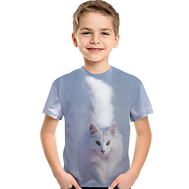 bfddd0a12bbc cheap Boys' Tops-Kids Toddler Boys' Active Basic Print