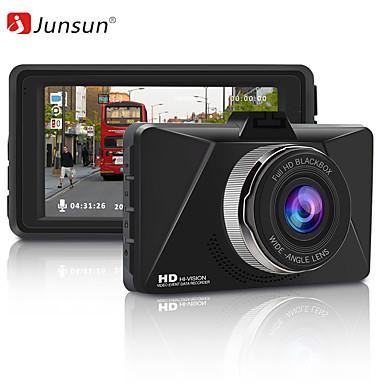 abordables DVR de Voiture-junsun q6 full hd 1080p voiture caméra dvr 3 pouces enregistrement vidéo wdr dashcam vision nocturne enregistreur de voiture parking moniteur