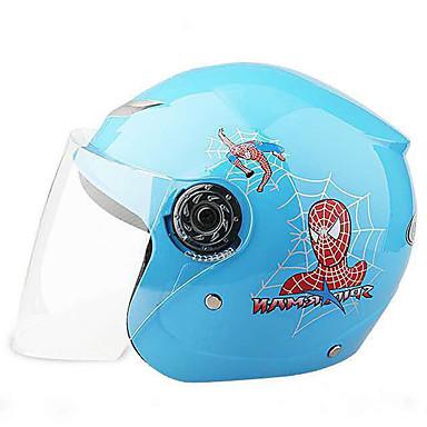 povoljno Kacige i potkape-Polu-kaciga Djeca Dječaci / Djevojčice Motocikl Kaciga Jednostavan dressing / Dijete sigurno Case / Ultra Light (UL)