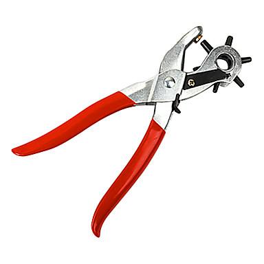 povoljno Kombinirana kliješta-bušiti plier rupa probijanje stroj okrugli otvor perforator alat za bušenje rupa za sat sat kartice kožni remen