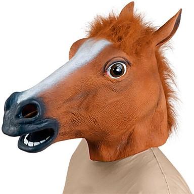 Halloween Furry Wolf Head Face Mask Headgear Party Creepy Masquerade Prop UK