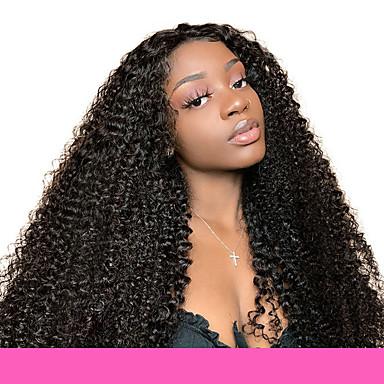 voordelige Weaves van echt haar-6 bundels Peruaans haar Kinky Curly Onbehandeld haar Menselijk haar weeft Bundle Hair Een Pack Solution 8-28inch Natuurlijke Kleur Menselijk haar weeft Geurvrij Beste kwaliteit nieuwe collectie