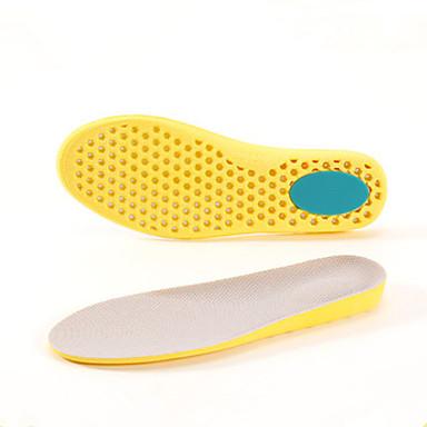 baratos Palmilhas-4 Peças Esporte Palmilhas e Calcanhadeiras PEVA Todos os Sapatos Verão Mulheres Preto / Bege