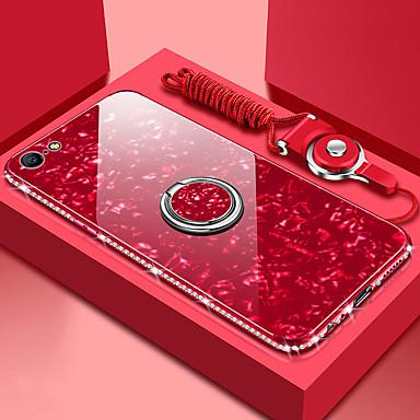 halpa iPhone kotelot-Etui Käyttötarkoitus Apple iPhone XS / iPhone XR / iPhone XS Max Peili Takakuori Yhtenäinen Kova Karkaistu lasi