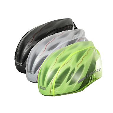 billige Hjelmer-Arsuxeo Voksen Voksne Bike Helmet Cover 2 Ventiler sport Utendørs Trening Sykling / Sykkel Sykkel - Hvit Svart Grønn Unisex