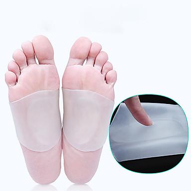 billige Skotilbehør-1 Deler orthotic Innersåle og innlegg Gel Såle Vår Unisex Hvit