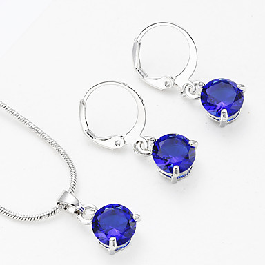 e4a3ef439 cheap Jewelry Sets-Women's AAA Cubic Zirconia Vintage Style Jewelry Set