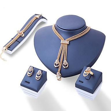 e80f9391e568 abordables Accesorios para Fiestas-Mujer Geométrico Conjunto de joyas  Series de Tótem Lujo