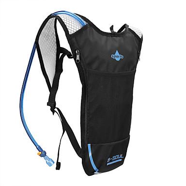 billige Sykkelvesker-3.6 L Vannsekker Sykling Utendørs Inkludert vann Blære Sykkelveske 300D Polyester Sykkelveske Sykkelveske Utendørs Trening Sykkel