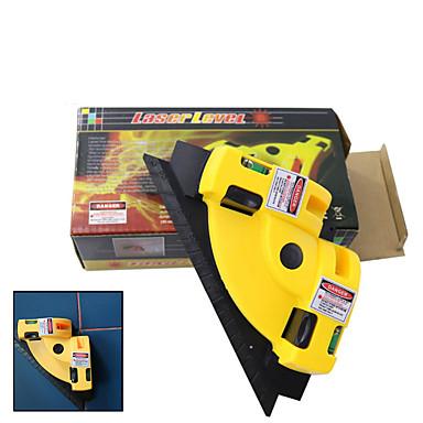 voordelige Test-, meet- & inspectieapparatuur-Gutmax 90 graden infrarood laser level stick keramische tegel haakse instrument meetinstrumenten laser niveau projectie hy03