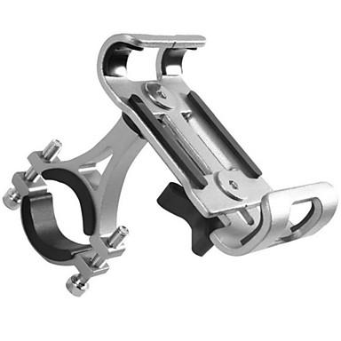 voordelige Auto-organizers-aluminium fiets motorfiets telefoon houder 3.5-6.5 mobiele telefoon gps mount houder fiets telefoon ondersteuning fietsen beugel monteren