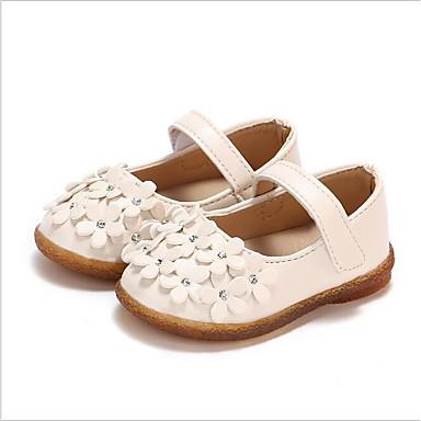 povoljno Za uzrast 0-9 mjeseci.-Djevojčice Eko koža Ravne cipele Dojenčadi (0-9m) / Dijete (9m-4ys) Obuća za male djeveruše Obala / Crvena / Pink Ljeto