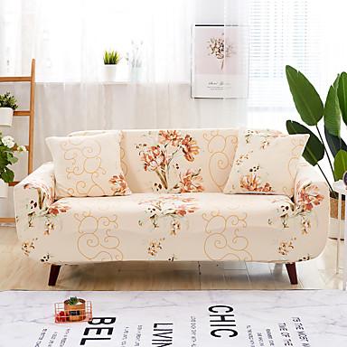 رخيصةأون غطاء-2019 جديد الكلاسيكية طباعة أريكة غطاء الأريكة تمتد الغلاف سوبر لينة غطاء الأريكة النسيج العالمي