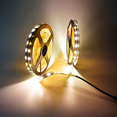 billige LED Strip Lamper-zdm 32.8ft / 10m ikke-vanntett 600 enheter smd 5050 leds dc12v fleksibel led strip lys for ferie / hjem / fest / innendørs / dekorasjon