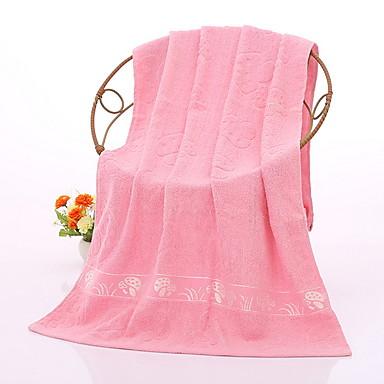 איכות מעולה מגבת רחצה, אחיד כותנה טהורה חדר אמבטיה 2 pcs