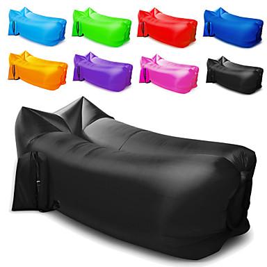 Felfújható kanapé Felfújható matracok Légfotel Külső Kemping Vízálló Hordozható Párásodás gátló Design-ideális kanapé 260*70 cm Oxford Kempingezés és túrázás Tengerpart Utazás mert 1 személy