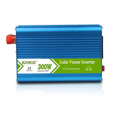 kesge 300w טהור סינוס גל כוח מהפך dc12 / 24v-ac220v / 110v מכונית באיכות גבוהה / מהפך חשמל הביתה