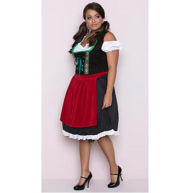 e1950524e Dance Costumes Bavarain Women's Theme Party Polyster Sashes / Ribbons High  Dress