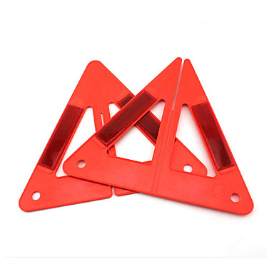 povoljno Alat za nuždu-prijenosni auto auto crvena sigurnost hitne reflektirajuća kombinirani tip upozorenja trokut