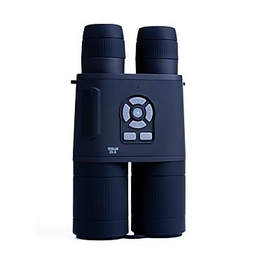 billige Kikkerter og teleskop-LITBest 8-32 X 52 mm Kikkerter AUTO LCD Skjerm Video Kamera Fullstendig flerbelagt K9 Vandring Utendørs Trening Jakt og fiske Silikon Gummi Spectralite ABS + PC