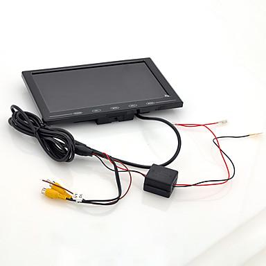 voordelige Automatisch Electronica-9 inch tft lcd-monitor - hoofdsteun in de auto / stand ultradun ontwerp met een resolutie van 800x480