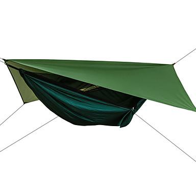 povoljno Namještaj za kampiranje-Kamperska njihaljka s mrežom protiv komaraca Ljuljačka sa strehom Vanjski Zaštita od sunca Prozračnost Ultra Light (UL) Padobranski najlon s karabinerima i trakama za 2 osobe Pješačenje Penjanje
