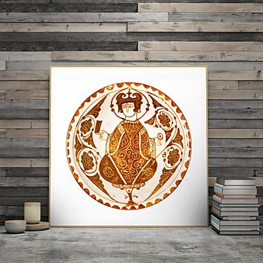 דפוס אומנות ממוסגרת קאנבס ממוסגר הדפסים - דתי פוליסטירן ציור שמן וול ארט