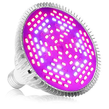 1pc 80 W 4000-5000 lm 120 Perles LED Spectre complet Pour Greenhouse Hydroponic Luminaire croissant Blanc Rouge Bleu 85-265 V Serre de légumes