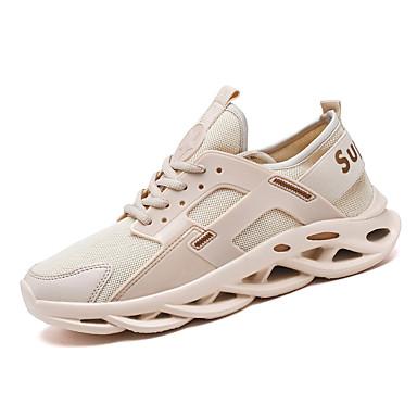 Erkek Ayakkabı Örümcek Ağı Sonbahar / İlkbahar yaz İngiliz / Çıtı Pıtı Atletik Ayakkabılar Günlük / Dış mekan için Siyah / Beyaz / Bej