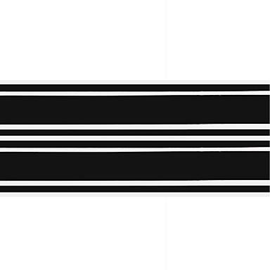 שחור מדבקות לרכב הוּמוֹר סטיקרים / מדבקות / רכב זנב מדבקות לא מפורט מדבקות