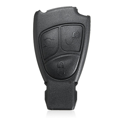 voordelige Auto-interieur accessoires-3 btn afstandsbediening sleutelhanger case reparatiekit voor benz e s c clk cl ml cls slk