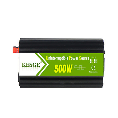 kesge&ri 500w ups לחייב מהפך dc12 / 24-ac220v / 110v שונה מהפך גל סינוס כוח עם מטען סוללה