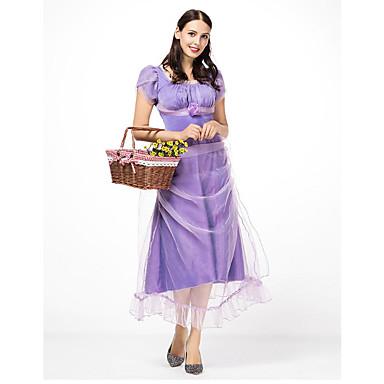 483317609 Dance Costumes Bavarain Women's Theme Party Polyster Split Joint High Dress