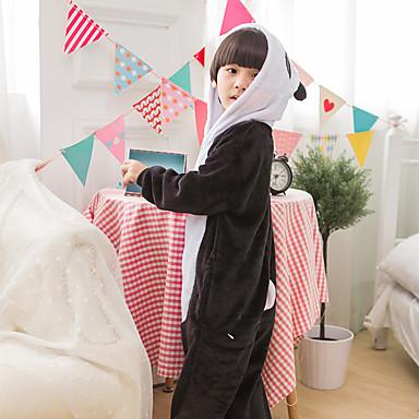 baratos Cuecas & Meias para Meninos-Infantil Para Meninos Estampa Colorida Algodão Roupa de Dormir Preto